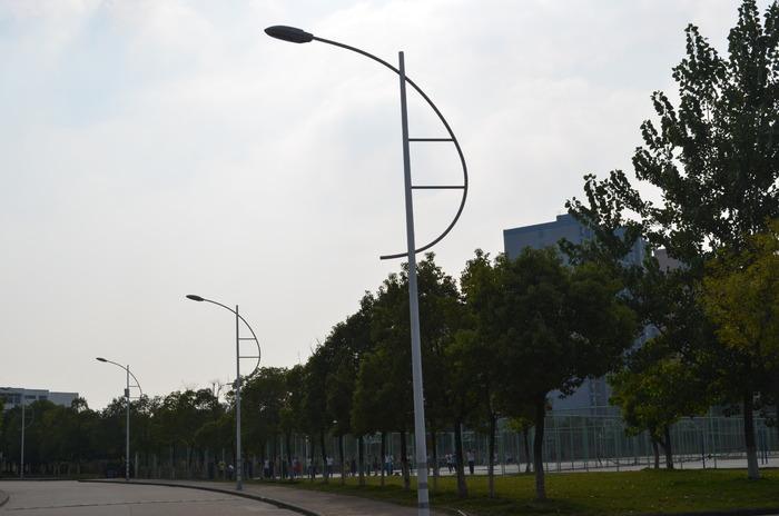 马路上的路灯