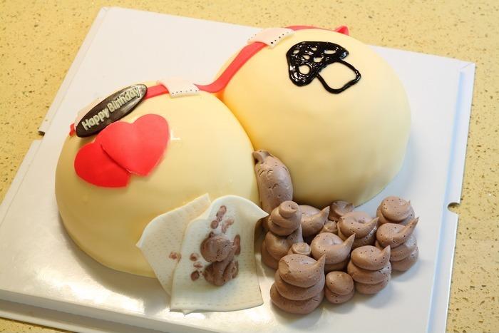 屁股拉便便款的生日蛋糕高清图片下载 编号3220169 红动网图片