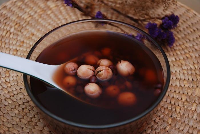 红豆莲子汤 餐饮 美食
