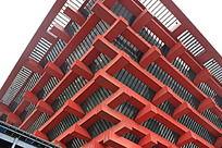 世博会中国馆框架屋顶