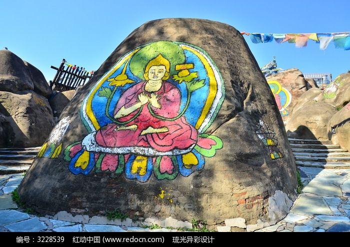 藏族壁画图片