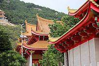 启明寺传统中国风建筑
