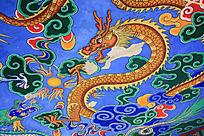 翠湖公园的盘龙图案