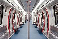 地铁列车车厢