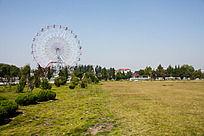 公园绿地摩天轮
