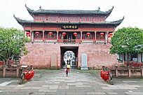 古建筑海阳钟鼓楼