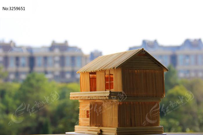 手工小房子图片