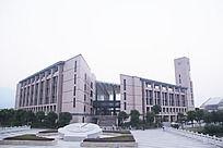 福州大学图书馆全景图片