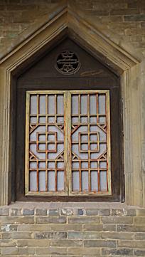 古代西式房间的窗户