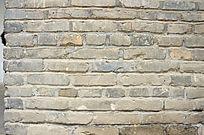 青灰墙砖纹理
