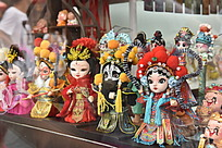 京剧玩偶娃娃