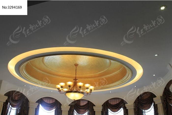 客厅大吊灯图片,高清大图_家庭装潢素材