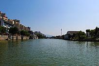 南塘河道水上风光