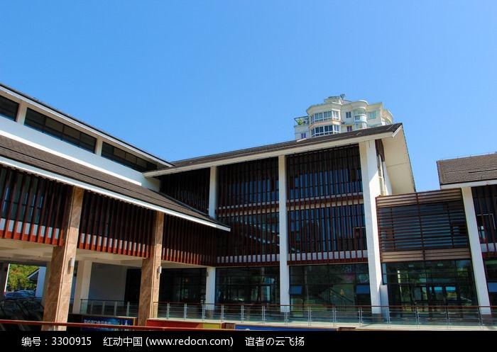 新中式建筑图片