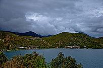 泸沽湖的里格半岛