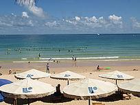 三亚大东海游泳场图片