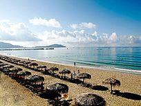 三亚亚龙湾游泳场图片