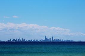大洋对岸城市风景线