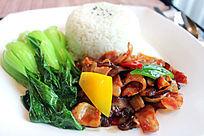 广式腊味饭