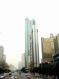 广东 深圳街道风景高楼