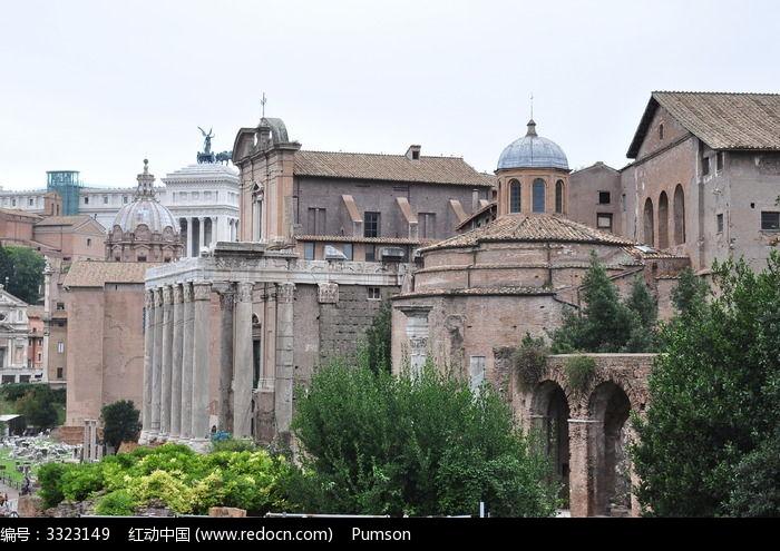 罗马古城高清图片下载(编号3323149)_红动网