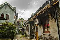 民国建筑摄影 仍在居住中的居民区