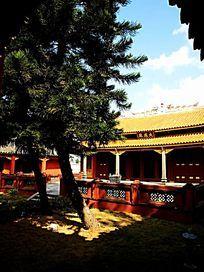 古老建筑寺庙一角