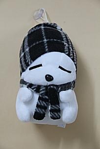 黑色头巾的流氓兔