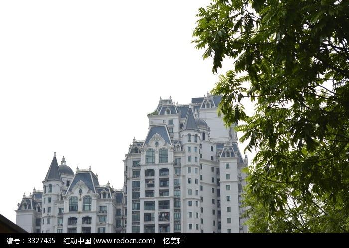 欧式建筑风格图片,高清大图