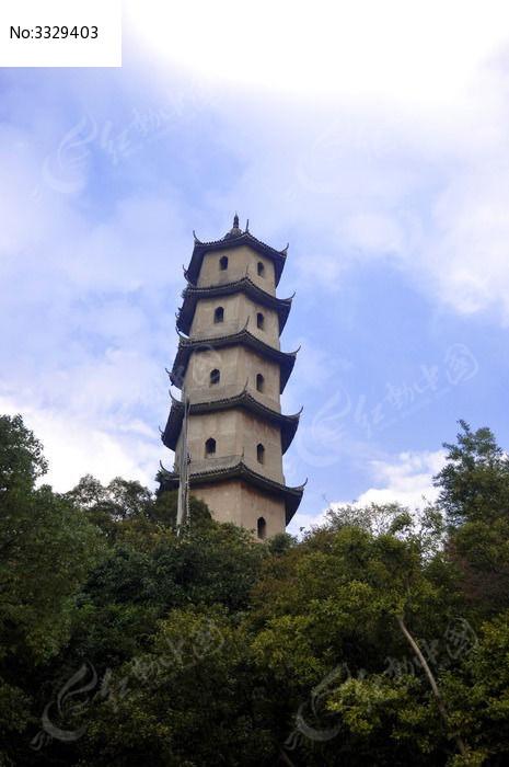 温州古塔图片,高清大图