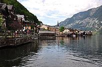 小镇和船坞