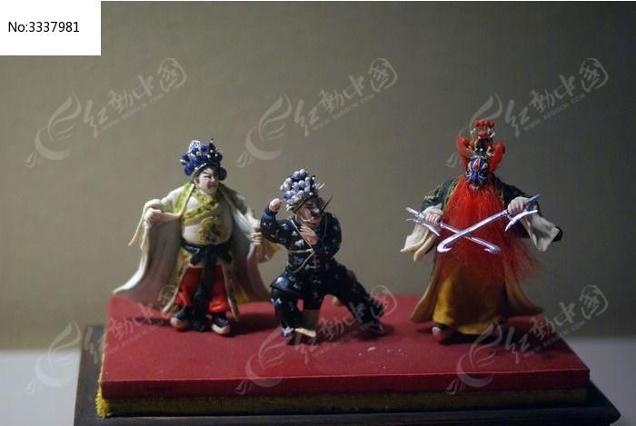京剧人像彩绘