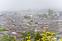 丽江古城全景