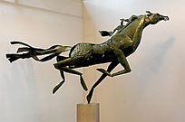 青铜奔马 雕塑艺术