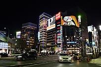 东京银座全景