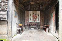 徽州民居的厅堂