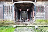 徽州民居的庭院厅堂