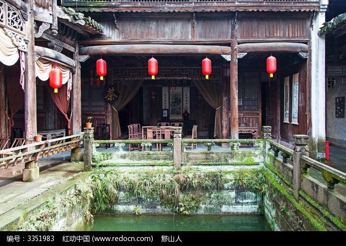 徽州民居古建筑图片