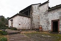 休宁古城岩的老房子