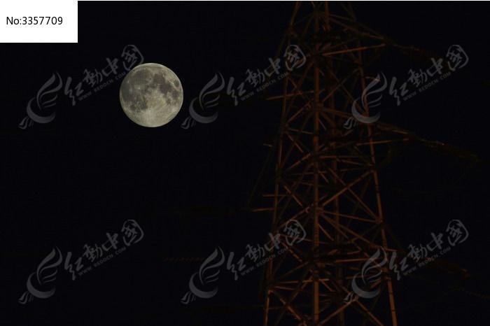 超级月亮图片_科学技术图片