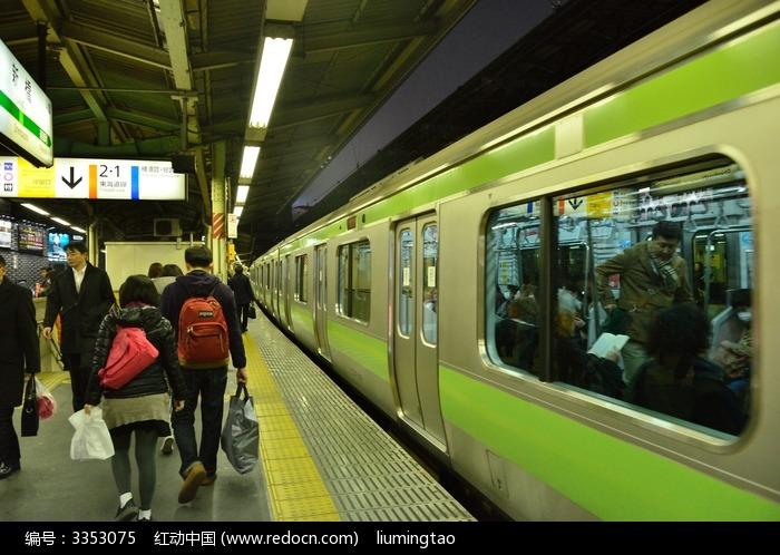 日本东京地铁站图片