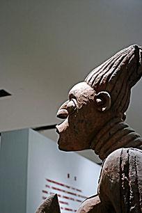 非洲木雕人像头像