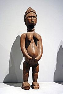 非洲木雕特写