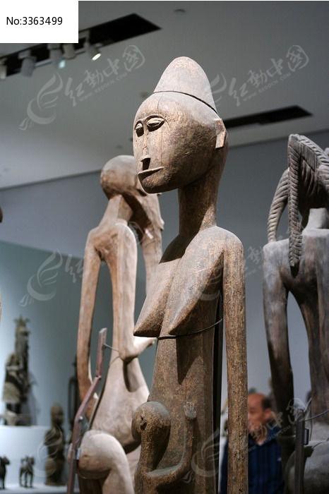 手工艺术非洲木雕裸体像&