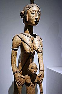非洲女人木雕精品