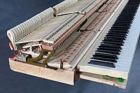 机芯-钢琴部件