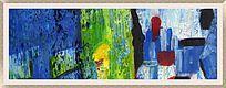 无框画 抽象装饰画 抽象油画 色块抽象画