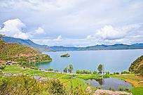 洛水村的风景