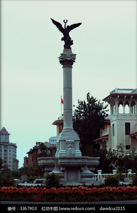 天津意式风情街欧式雕塑图片图片