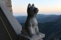 12生肖石刻的狗